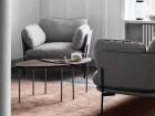 Set of 6 Pinwheel HM7 coffee or side tables by Hvidt and Mølgaard. New edition.