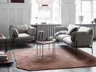 Pinwheel HM7 coffee or side table by Hvidt and Mølgaard. New edition. Walnut