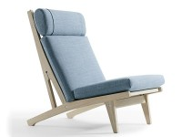 GE 375 lounge chair by Hans Wegner. New edition
