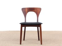 "Mid-Century  modern scandinavian set of dining chairs  in Rio rosewood model ""Peter"""