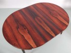 Mid-Century Modern scandinavian dining set in Rio rosewood by Hans Olsen with 6 chairs