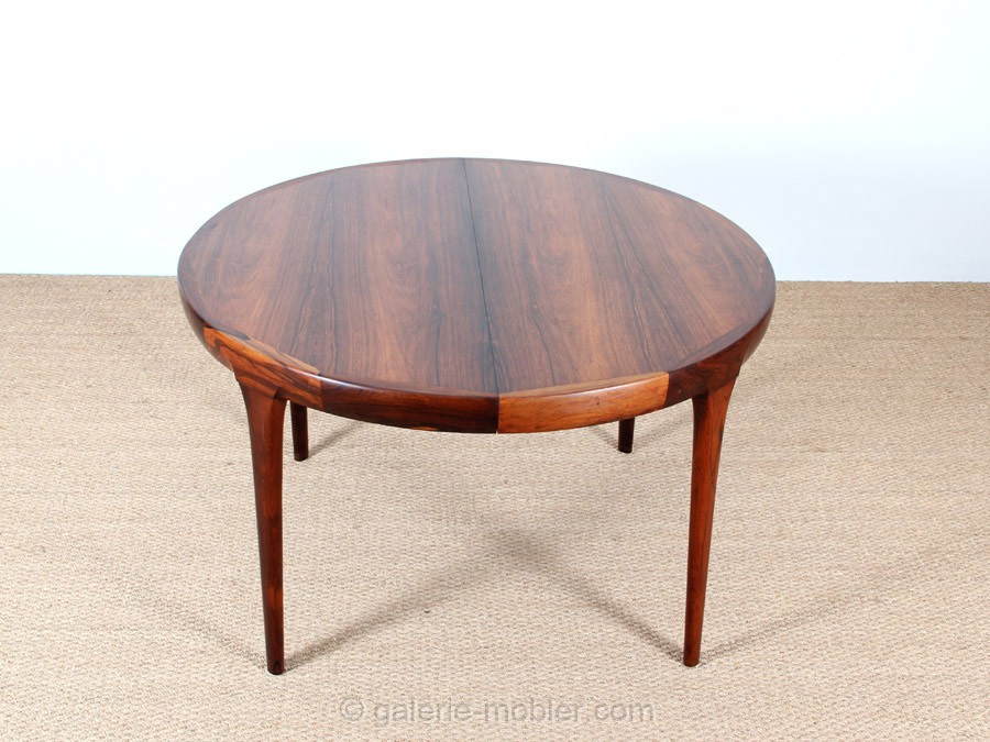 Circle Dining Table In Rosewood 4 10 Seats Galerie M 248 Bler