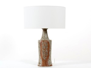 Tall ceramic lamp