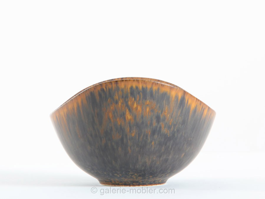 Scandinavian Ceramic Bowl Model Aro Galerie M 248 Bler